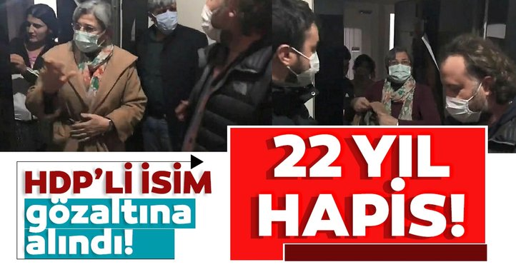 Son dakika: HDP'li Leyla Güven Diyarbakır'da gözaltına alındı