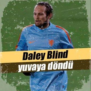 Daley Blind Ajax'a döndü