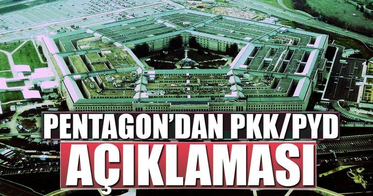 Son dakika: Pentagon'dan PYD/PKK açıklaması
