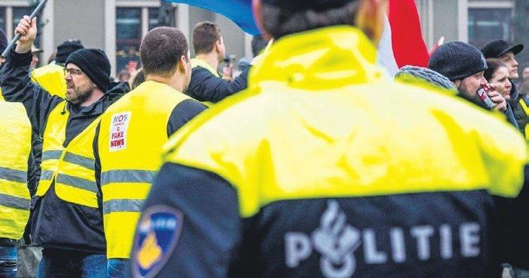 Hollanda polisi komalık etti
