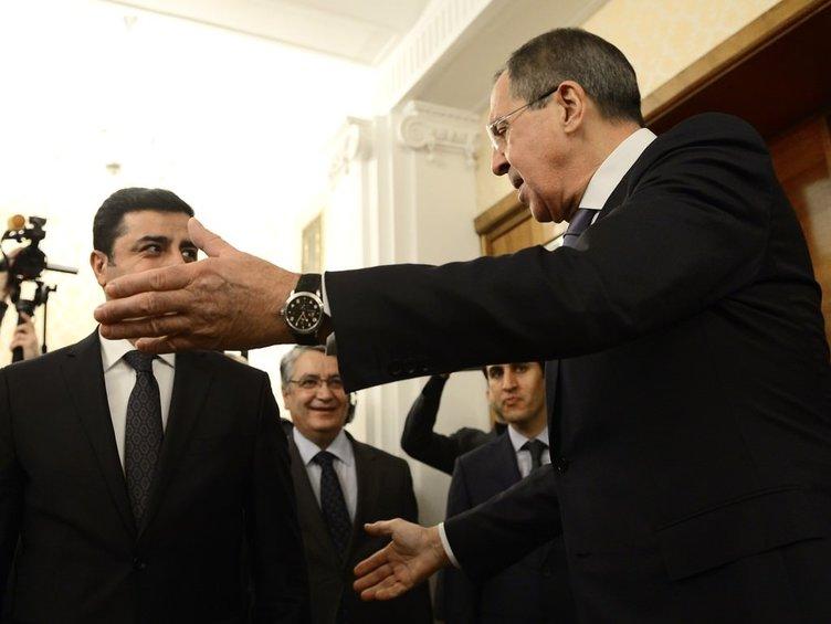 Demirtaş Lavrov ile görüştü!