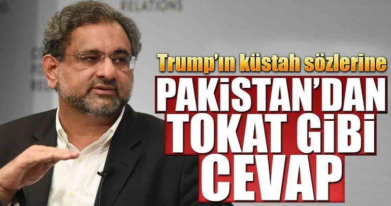 Pakistan'dan Trump'a tokat gibi cevap
