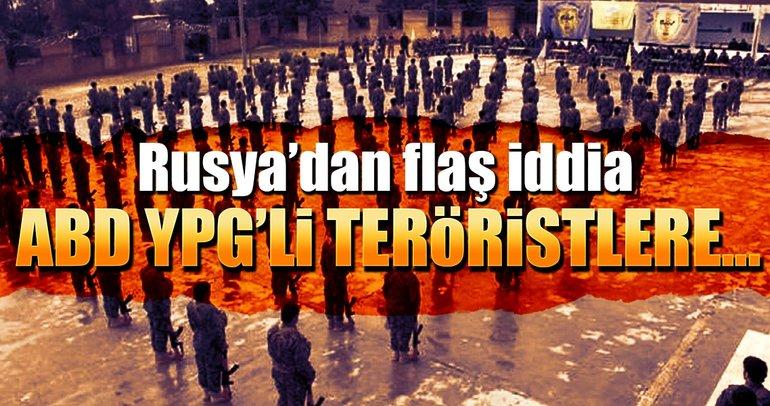 ABD, YPG'li teröristlere 20 üs kurdu