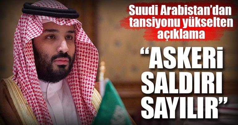 Suudi Arabistan Veliaht Prensi Bin Selman: İran'ın Husilere füze sağlaması askeri saldırı sayılır