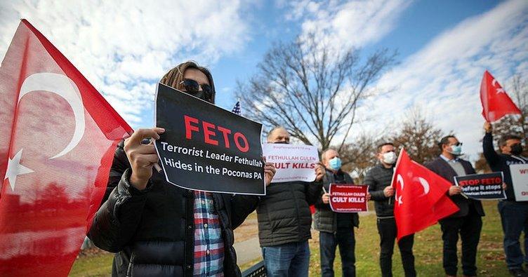 FETÖ'nün ABD'deki Türkiye karşıtı faaliyetleri New York'ta protesto edildi