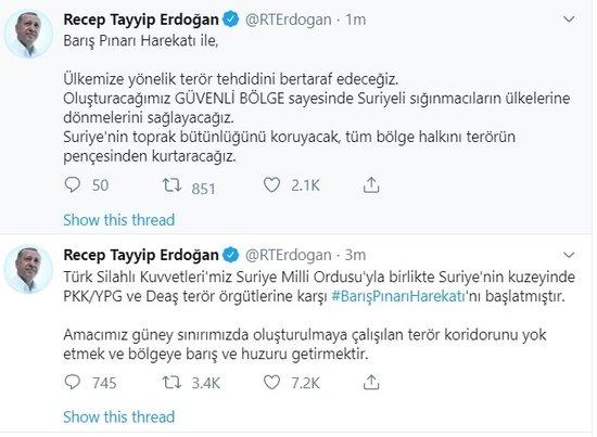 erdoğan barış pınarı ile ilgili görsel sonucu