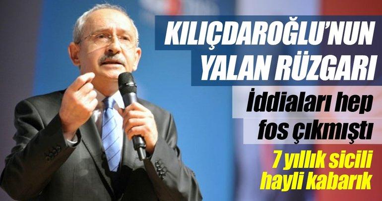 Kılıçdaroğlu'nun yalan rüzgârı