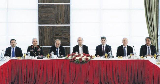 Ankara'da 22 vali ile güvenlik toplantısı