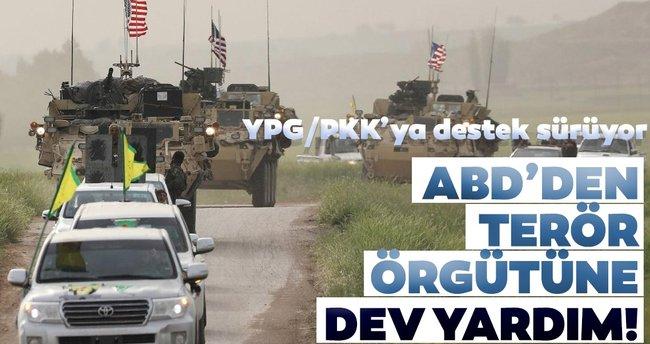ABD'den terör örgütü YPG/PKK'ya dev destek! - Son Dakika Haberler