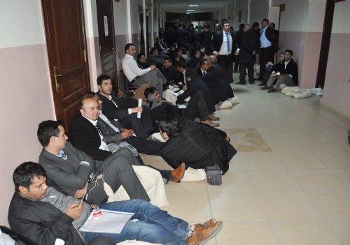 Oy çuvallarını böyle beklediler