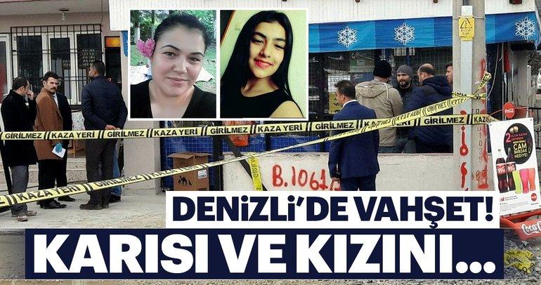 Eşini ve kızını öldürüp intihar girişiminde bulundu