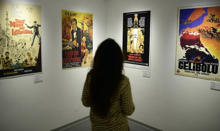 İçinden Türkiye Geçen Yabancı Filmler sergisi