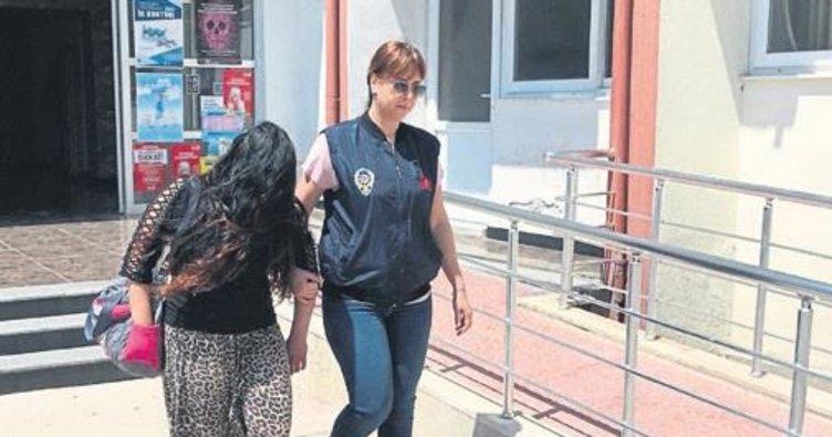 Mersin'de 'Tırnakçı', polisten kaçamadı