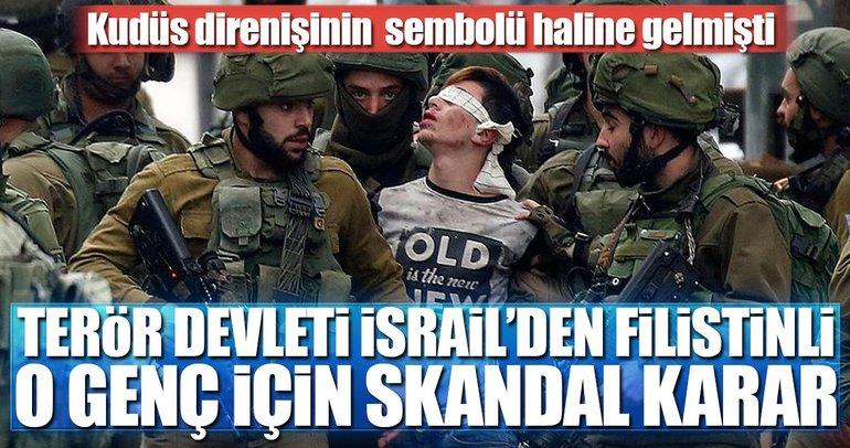 Terör devleti İsrail'den Cüneydi için skandal karar