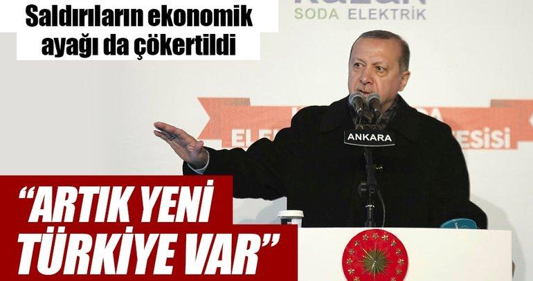 Artık yeni Türkiye var