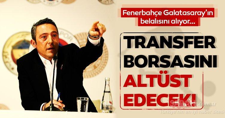 Son dakika haberi: Transfer borsasını altüst edecek... Fenerbahçe Başkanı Ali Koç Galatasaray'ın belalısını alıyor!