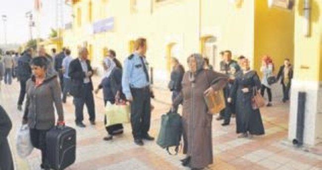 Ankara treninde bomba paniği