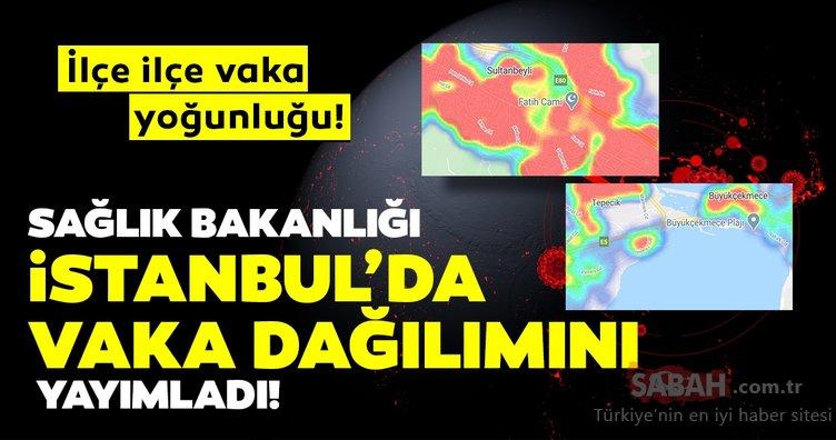 Son Dakika Haberi | Corona virüsü vaka dağılımı açıklandı! Hayat Eve Sığar ile corona virüs İstanbul ilçe ilçe vaka dağılımı