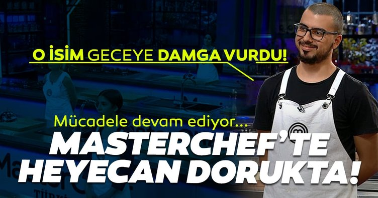 Yeni sezonda Masterchef ana kadro yarışmacıları için mücadele sürüyor! Masterchef ana kadro elemesinde Serhat son 16'ya kalan ilk isim oldu!