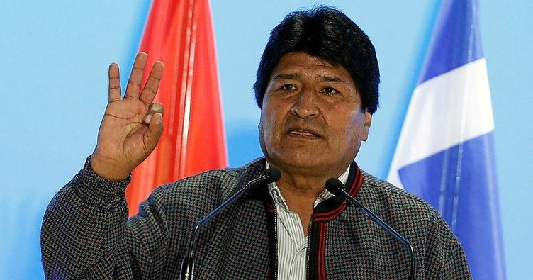 Evo Morales'ten Venezuela mesajı