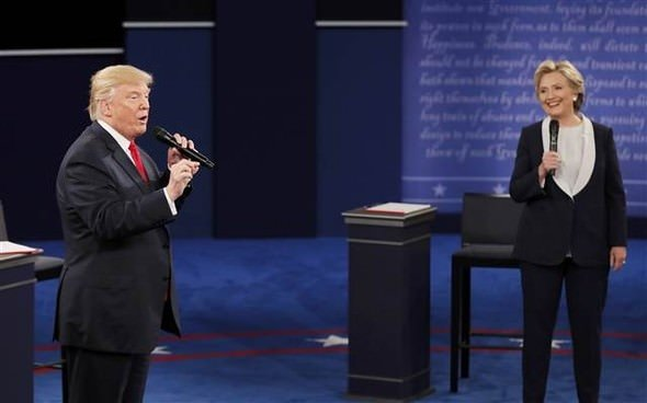 Clinton'la Trump arasındaki fark açılıyor