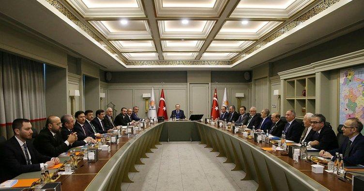Son Dakika: Cumhurbaşkanı Erdoğan'ın, Uyum Komisyonu üyeleriyle toplantısı bitti