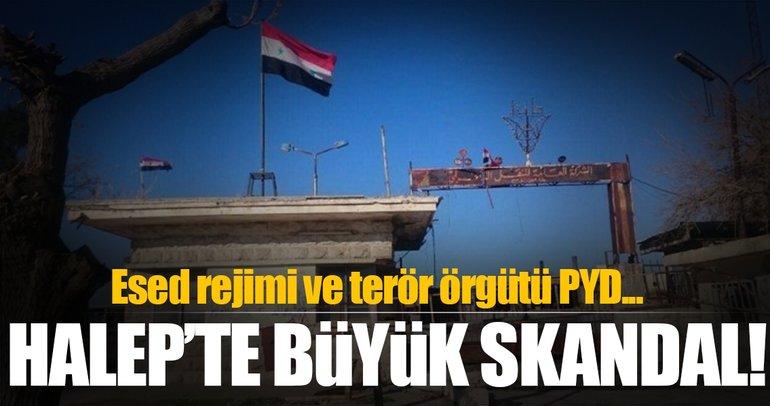 Halep'te Esed rejimi ile PYD/PKK anlaştı