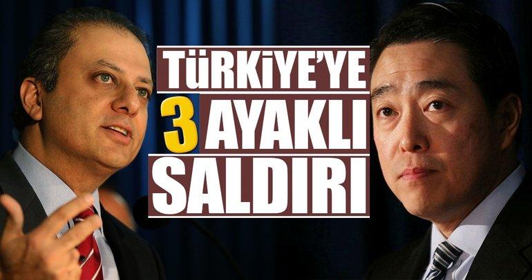 Türkiye'ye 3 ayaklı saldırı planı