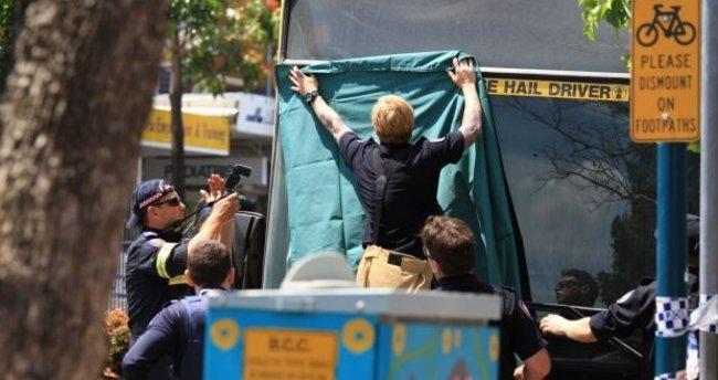 Avustralya'da otobüs şoförü yolcu tarafından yakılarak öldürüldü