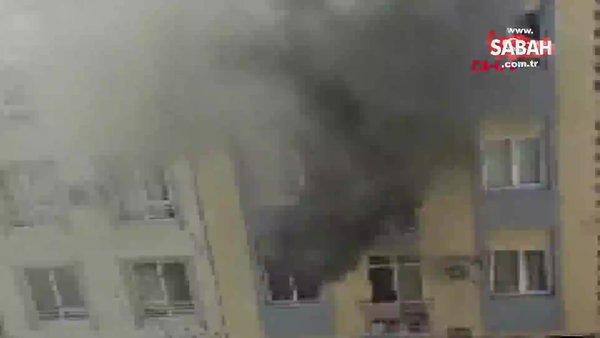 SON DAKİKA: Antalya'da yangında, anne ile kızı dumandan etkilendi | Video