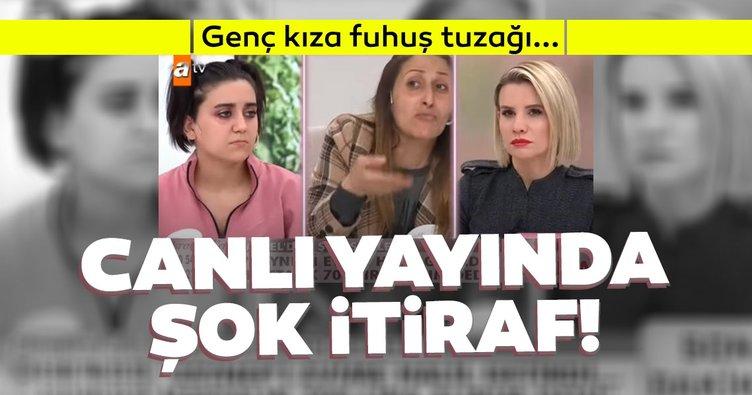 SON DAKİKA: Esra Erol canlı yayında fuhuş çetesini ortaya çıkardı! 19 yaşındaki genç kıza para karşılığında...