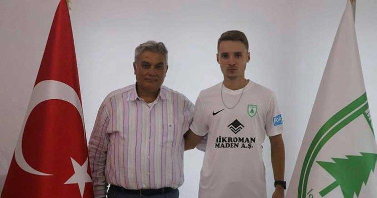 Fenerbahçe'nin genç golcüsü Barış Sungur Muğlaspor'da