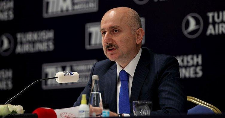 Bakan Karaismailoğlu: Türkiye'nin bir lojistik güç olması için hep birlikte çalışıyoruz
