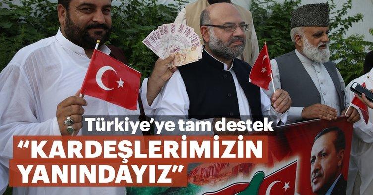 Pakistan'dan Türkiye'ye tam destek! Kardeşlerimizin yanındayız