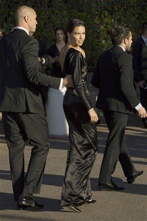 Adriana Lima sevgilisiyle kırmızı halıya çıktı