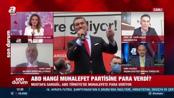ABD hangi muhalefet partilerine para verdi? Mustafa Sarıgül'den flaş açıklama