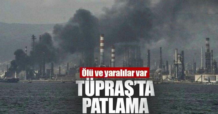 Son Dakika: Tüpraş'ın İzmir'deki rafinerisinde patlama!