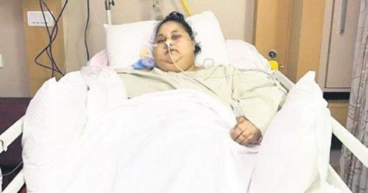 En şişman kadın 250 kilo verdi