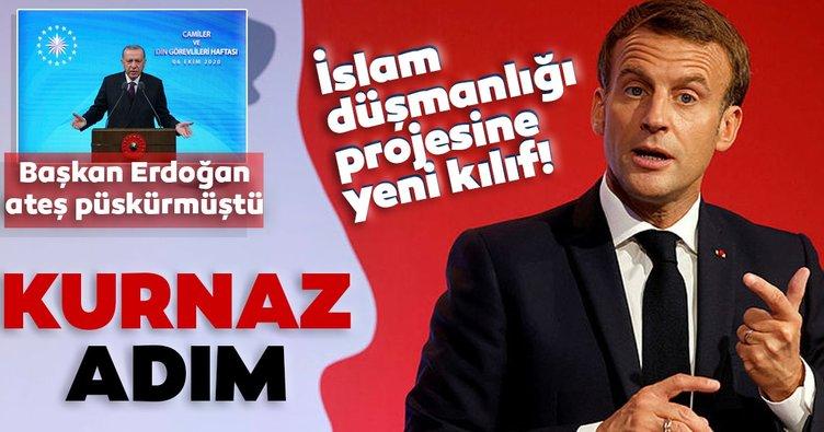 Son dakika: Fransa'dan kurnaz adım! Başkan Erdoğan, Macron'a ateş püskürmüştü! İslam düşmanlığı projesine yeni kılıf