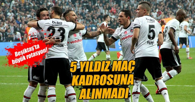 Beşiktaş Almanya'ya 5 eksikle gitti