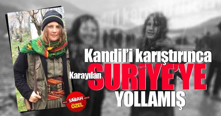 Kandil'i karıştırınca Karayılan Suriye'ye yollamış
