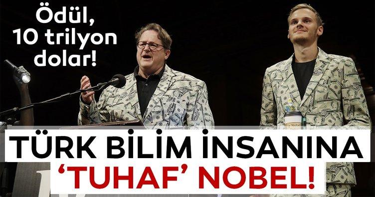 Türk bilim insanına 'tuhaf' Nobel!