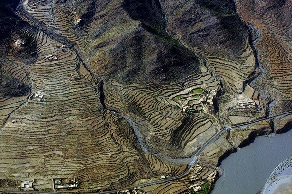 Havadan çekilmiş manzara fotoğrafları