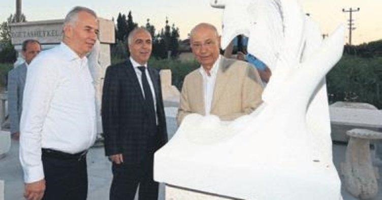 7'nci Taş Heykel Kolonisi sona erdi