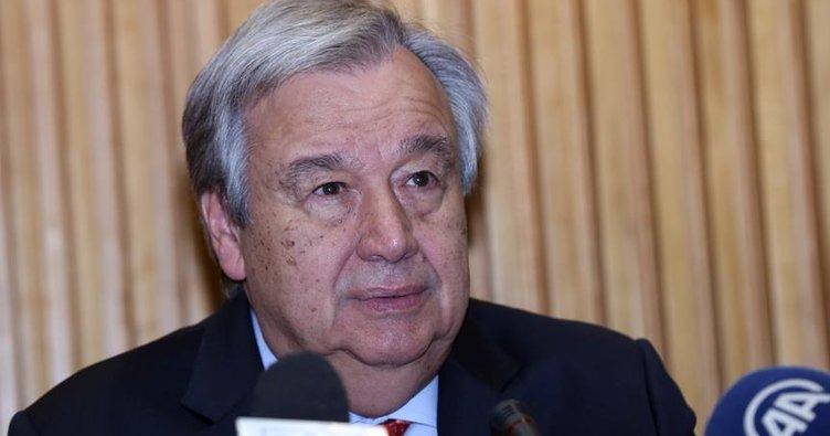 Guterres'ten Suriye mesajı