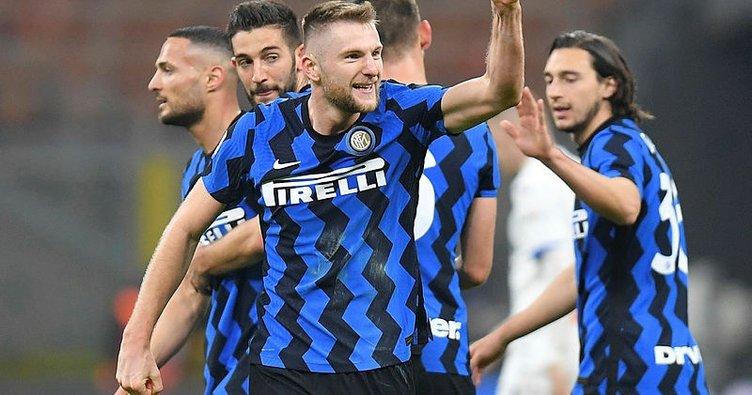 Inter, Atalanta engelini de geçti! 7'de 7...
