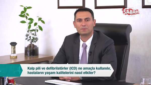 Kalp pili ve defibrilatörler (ICD) ne amaçla kullanılır, hastaların yaşam kalitelerini nasıl etkiler? | Video