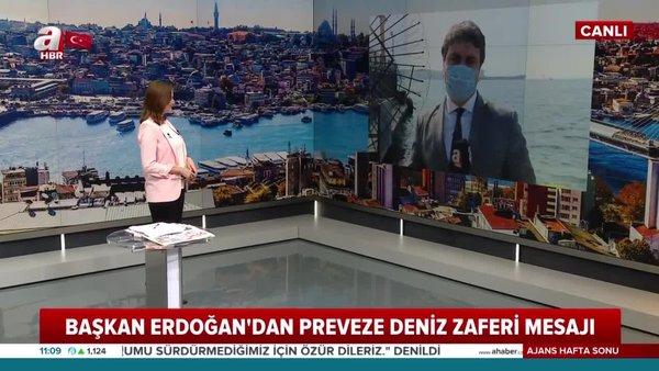 Son dakika: Başkan Erdoğan'dan 'Preveze Deniz Zaferi'nin Yıl Dönümü ve Deniz Kuvvetleri Günü'nde 'Mavi Vatan' mesajı | Video