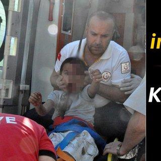 Zonguldak'ta inanılmaz kaza! Bisikletten düşen çocuk feci şekilde yaralandı