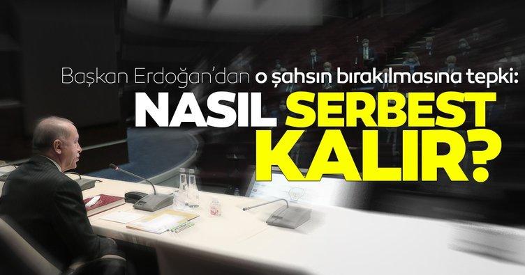Başkan Erdoğan'dan kadına şiddet uygulayan şahsın bırakılmasına tepki